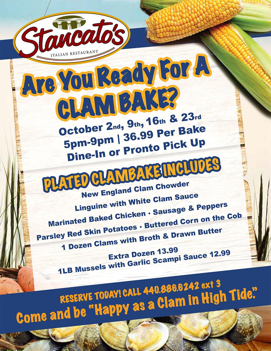 Cleveland's Best Clambake & Buffet